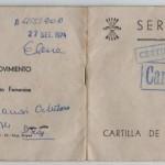 CARTILLA SERVICIO SOCIAL, DELEGACIÓN nACIONAL DE LA SECCIÓN FEMENINA