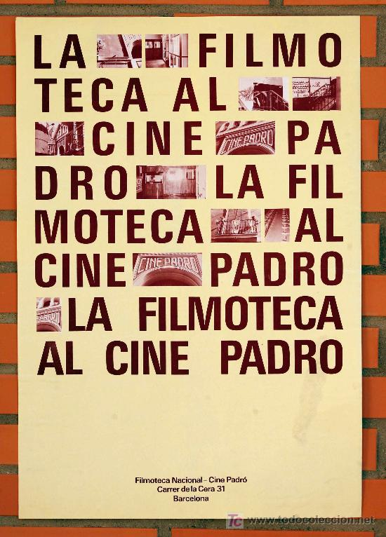 Cartell de la Filmoteca consultat a http://www.todocoleccion.net