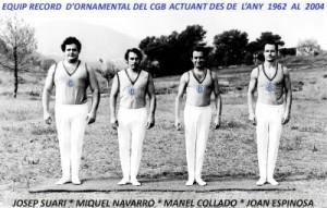 Equip 0rnamental del Barcelonès des del 1962 fins el 2004