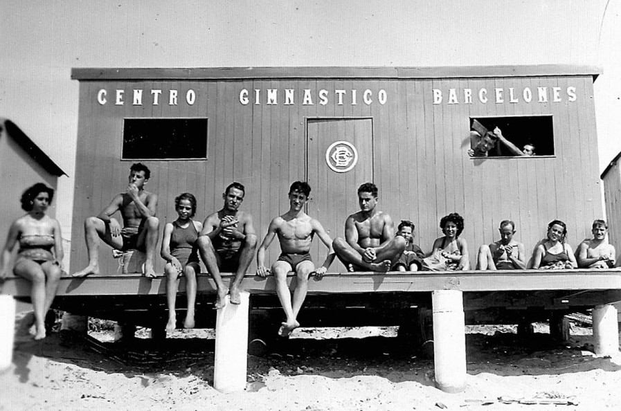 1950's - Caseta de Banys de Badalona