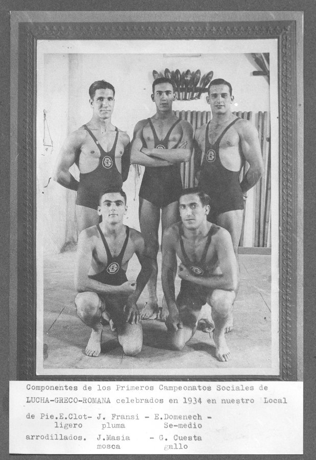 1934 Campionats socials de lluita