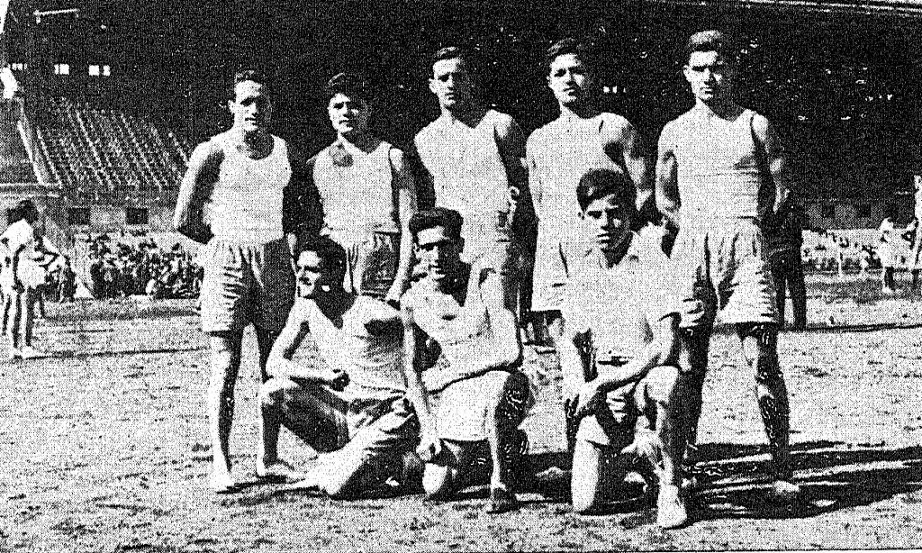 1934 - Proves atlètiques a l'Estadi Olìmpic de Montjuïc