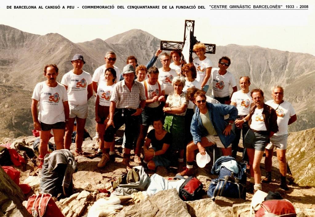1983 - Travessia Barcelóna - Canigó del CGB