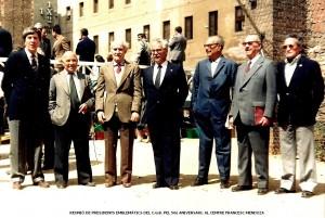 50è Aniversari dle CGB - Reunió de Presidents 1983