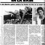 A l'Any 1960 es van anar obrint, pel Centre Gimnàsric Barcelonès, les pistes d'atletisme a les fèmines i poc a poc, encara que en precaució, s'utilitzaven regularment. Una dècada després les atletes femenines vam aconseguir tres cops seguits el Campionat d'Espanya de categoria absoluta per Clubs.