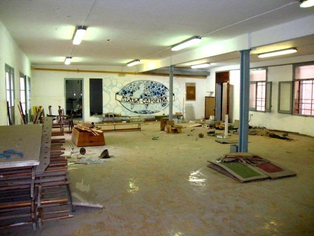 Sala que era dedicada en els últims temps a la activitat de Capoeira