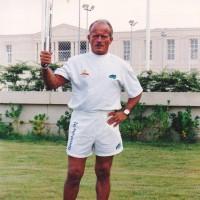 Antoni Olmo lluitador del pés gall, Campió de Catalunya i d'Espanya durant tota la dècada dels 1960's.