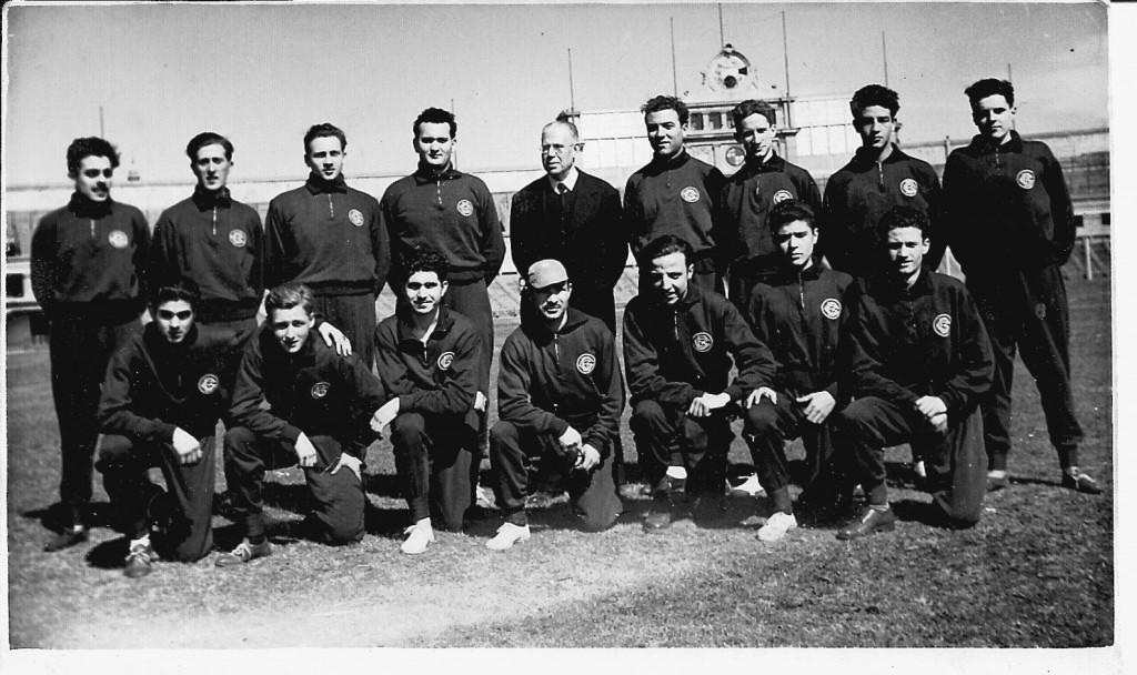 Grup d'Atletisme del Centre Gimnàstic Barcelonès de la dècada dels anys 1950's. Alguns dels seus membres vam arribar a participar durant algunes dècades més en les diferents categories de la especialitat.