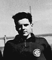 Francesc Lorente Monge. Atleta notable de la Secció d'Atletisme del CGB. Des del final de la dècada dels anys 40's que va iniciar el seu histotial esportiu al Club.