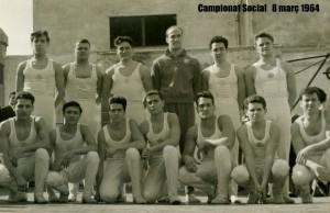 Equip de gimnàstica esportiva del CGB que a la dècada dels anys 1960 vam assolir un nivell molt competitiu a Catalunya i també amb les competicions de nivell Estatal.