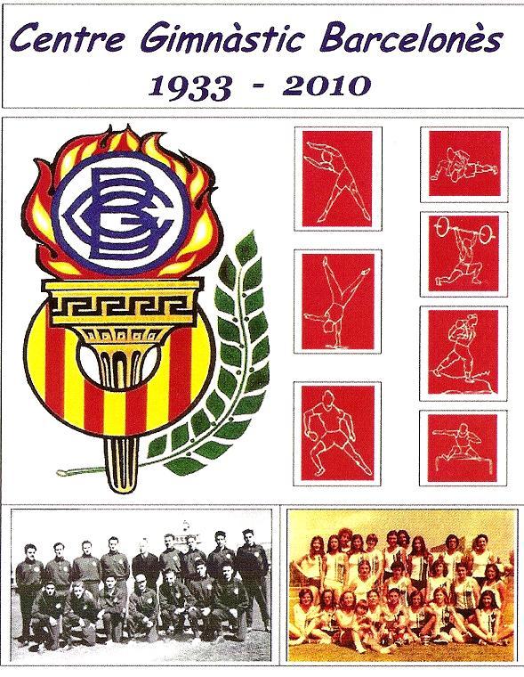 Memorial històric d'Atletisme masculí i femení des del 1933 fins al 2010. Un gran material gràfic amb els atletes més rellevants que han destacat al CGB al llarg de la seva dilatada història esportiva i de competició.