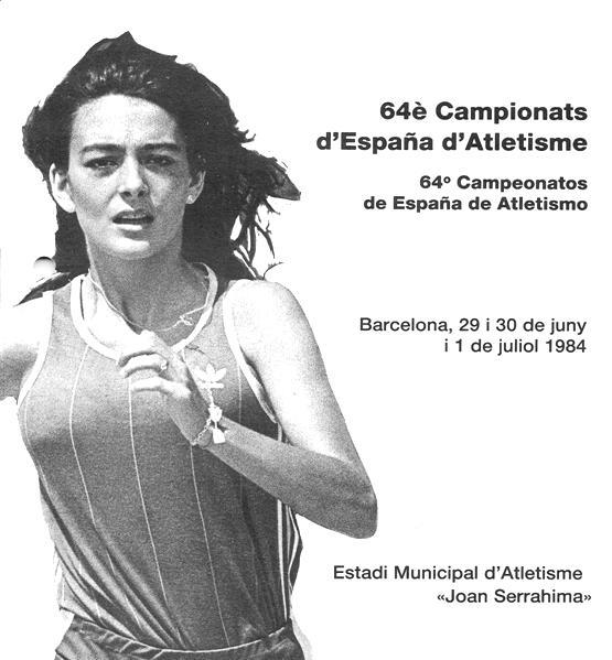Teresa Rioné, Campiona d'Espanya de 100 metres lliços del Club Esportiu Universitari, va decidir fitxar a l'any 1983  pel Centre Gimnàstic Barcelonès i es va emportar també el seu entrenador personal Jordi Campmany.