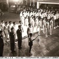 Al 1948, la Federació Catalana va fitxar al Campió Suís de Gimnàstica artística Fritz Lehman.