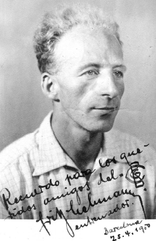Al 1948, la Federació Catalana va fitxar al Campió Suís de Gimnàstica artística Fritz Lehman, el qual va venir per a una estada de sis mesos i es va quedar a viure a Catalunya durant sis anys, coincidint amb el també Campió europeu Joaquim Blume.