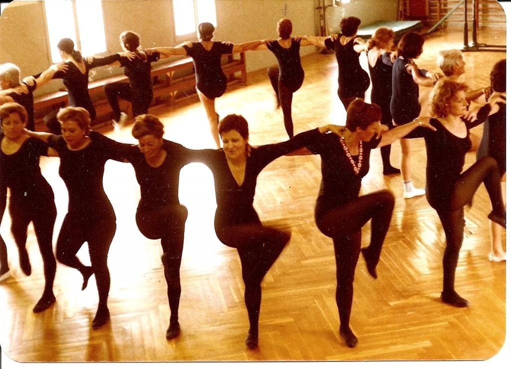 Classe femenina de Educativa - 1980's
