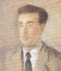 Pere Oliver Ribalta va ésser un Cegebista molt lliurat als objectius esportius del Barcelonés i Pintor molt renombrat des dels anys 1940's als 1990's.