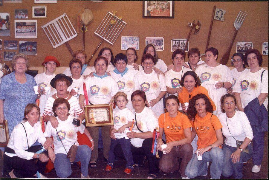 Diploma S.C.Girasol a S.C.A.Disbauxa 2003