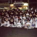 Foto de grup finalitzada la rua de Sants 2008.