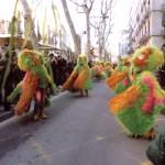 Al lloro Raval que...desfilant per les Rambles de Barcelona.