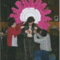 taller de confecció de la disfressa Fantasia Musical