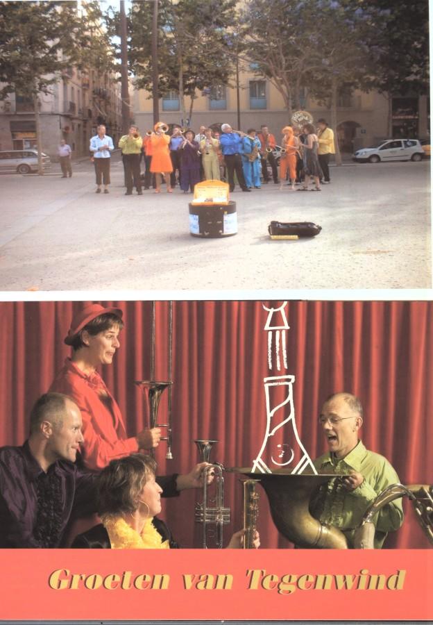 orquesta alemana a la rambla del raval, any 2006