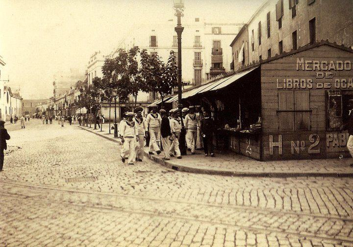 portal de sta. madrona, 1907
