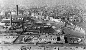 paralelo- muralla que tancava Ciutat Vella