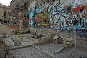 restos convento sta. maria de jerusalen ( pllz. gardunya )2012-13