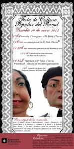 Cartell de la Festa de Cultura Popular del Raval