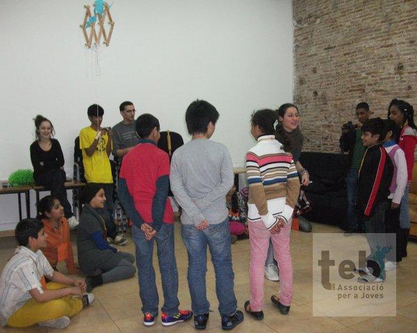 Foto grup Collaso a la gimcana