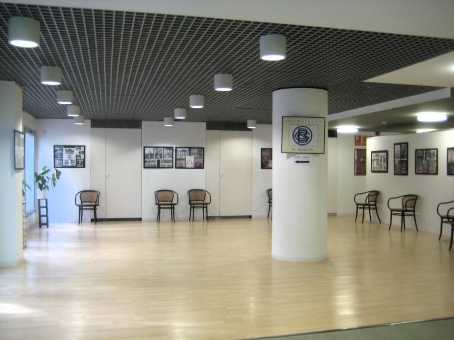 Memorial dels inicis de la Gimnàstica Ornamental al Centre Gimnàstic Barcelonès des de l'Any 1940 als nostres dies que esta exposat al Casal de Dia del Doctor Josep Trueta
