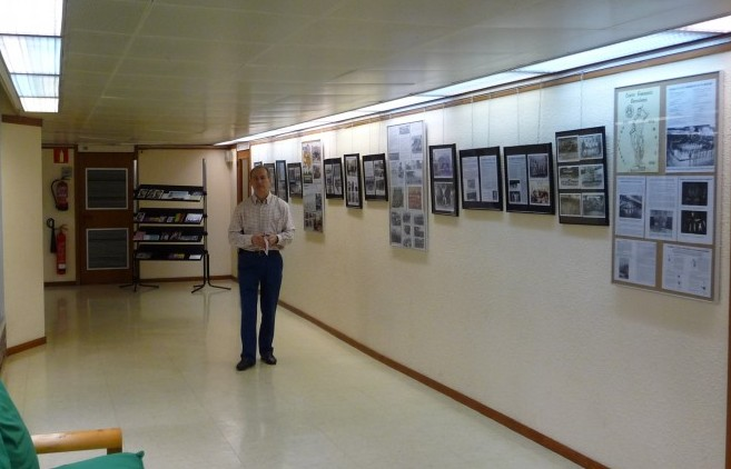 Exposició de l'historial del CGB del sey 75è Aniversari.