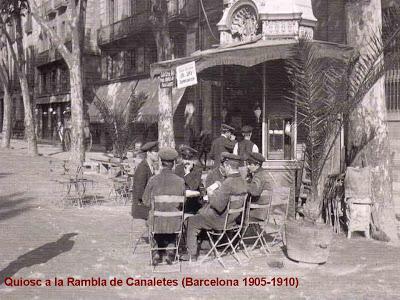 KIOSCO DE CANALETAS 1906