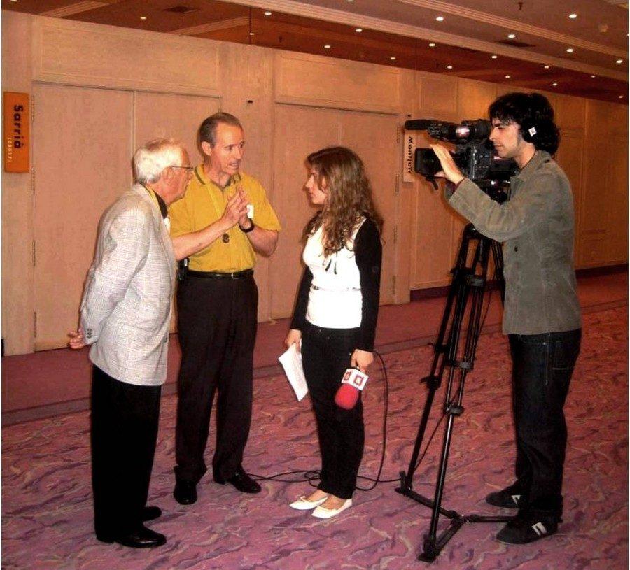 Reportatge sobre el 75è Aniversari del CGB a càrrec de la BTV de Barcelona.